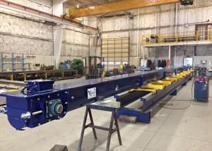 Trough Conveyor, Round bottom Conveyor, Food Grade Conveyor, Stainless Conveyor